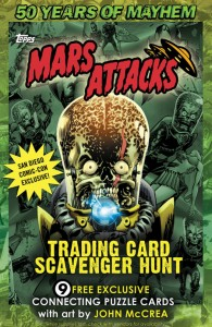 Mars Attacks San Diego Promo Poster 195x300 Image