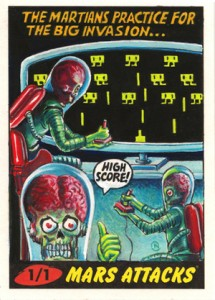 04 2012 Topps Mars Attacks Heritage Sketch Card Neil Camera 215x300 Image