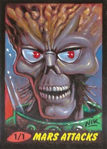 09 2012 Topps Mars Attacks Heritage Sketch Card Nik Neocleous 215x300 Image