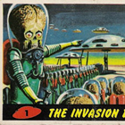 1962 Topps Mars Attacks Trading Cards