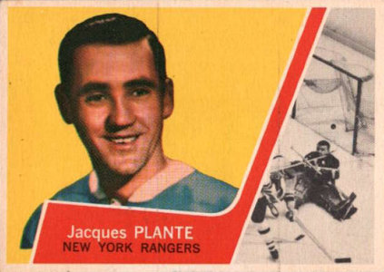 1963 64 Topps Hockey Jacques Plante Image