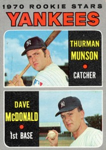 1970 Topps Thurman Munson RC