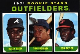 1971 Topps Don Baylor Dusty Baker RC