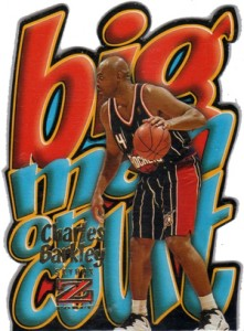 1996-97 Skybox Z-Force Big Man on Court Charles Barkley