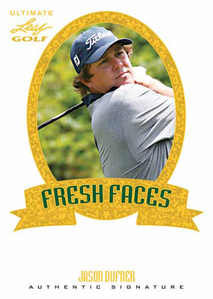 2012 Leaf Ultimate Golf Fresh Faces Jason Dufner Image