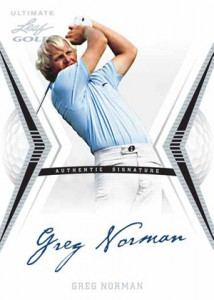 2012 Leaf Ultimate Golf Greg Norman 214x300 Image