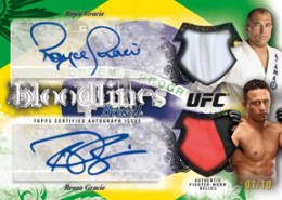 2012 Topps UFC Bloodlines Dual Autographed Relic 260x185 Image