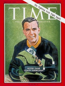 2012 Topps Allen & Ginter Autographs - Time Magazine Ara Parseghian