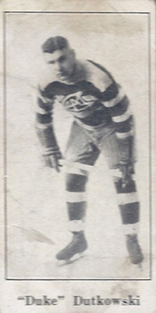 1923 V128-1 Paulin's Candy Hockey Card