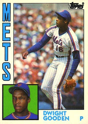 1984 Topps Traded Baseball Dwight Gooden Image