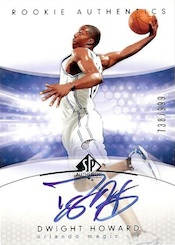 2004 05 SP Authentic Dwight Howard RC Image