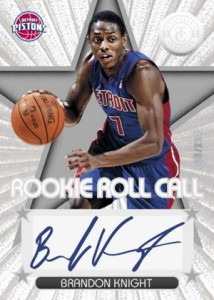 2012 13 Totally Certified Basketball Rookie Roll Call Autographs Brandon Knight 214x300 Image
