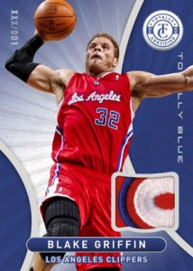 2012 13 Totally Certified Basketball Totally Blue Patch Blake Griffin 214x300 Image