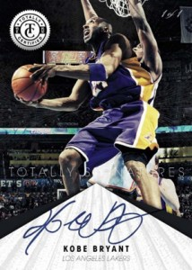 2012 13 Totally Certified Basketball Totally Signatures Kobe Bryant 214x300 Image