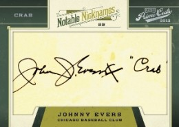 2012 Playoff Prime Cuts Notable Nicknames Johnny Evers 260x185 Image