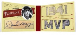 2012 Playoff Prime Cuts Timeline Joe DiMaggio 260x120 Image