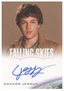 2012 Rittenhouse Falling Skies Season One Autographs Connor Jessup 210x300 Image