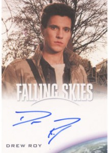 2012 Rittenhouse Falling Skies Season One Autographs Drew Roy 214x300 Image