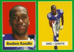 2012 Topps Football 1957 Green Border 11 Rueben Randle 260x182 Image