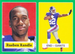 2012 Topps Football 1957 Green Border 12 Rueben Randle 260x186 Image