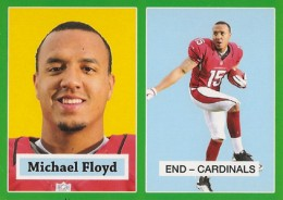 2012 Topps Football 1957 Green Border 13 Michael Floyd 260x184 Image
