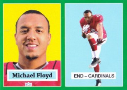 2012 Topps Football 1957 Green Border 14 Michael Floyd 260x184 Image