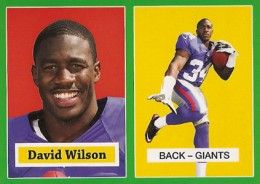 2012 Topps Football 1957 Green Border 21 David Wilson 260x184 Image