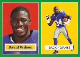 2012 Topps Football 1957 Green Border 22 David Wilson 260x187 Image