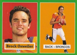 2012 Topps Football 1957 Green Border 27 Brock Osweiler 260x185 Image