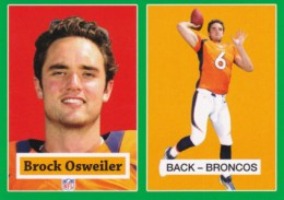 2012 Topps Football 1957 Green Border 28 Brock Osweiler 260x183 Image