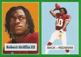 2012 Topps Football 1957 Green Border 3 Robert Griffin III 260x186 Image