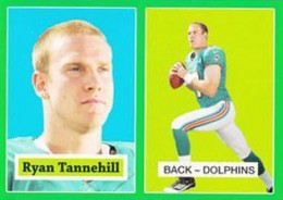 2012 Topps Football 1957 Green Border 7 Ryan Tannehill 260x184 Image