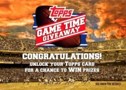 2012 Topps Football Game Time Giveaway Redemption Card 260x185 Image