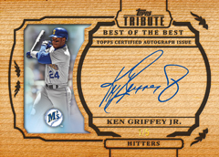 2013 Topps Tribute Baseball Best of the Best Autographs Ken Griffey Jr Image