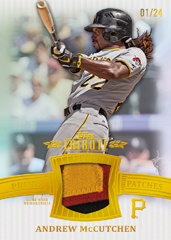 2013 Topps Tribute Baseball Prime Patches Andrew McCutchen Image