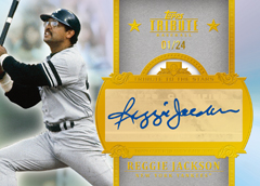 2013 Topps Tribute Baseball Tribute to the Stars Reggie Jackson Image