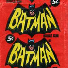 1966 Topps Batman B Series Blue Bat Trading Cards