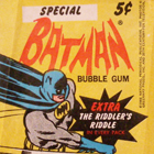 1966 Topps Batman Riddler Back Trading Cards
