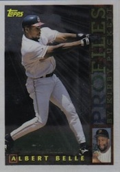 1996 Topps Baseball Profiles Card Image
