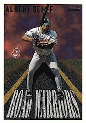 1996 Topps Baseball Road Warriors Card Image