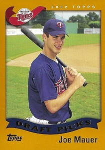 2002 Topps Baseball Joe Mauer RC