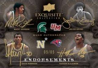 2011 12 Upper Deck Exquisite Basketball Endorsements Image