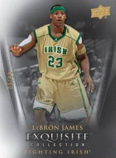 2011 12 Upper Deck Exquisite Basketball LeBron James Image