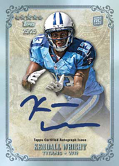 2012 Topps Five Star Football Autograph Kendall Wright Image