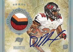 2012 Topps Five Star Football Autographed Patch Image