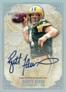 2012 Topps Five Star Football Brett Favre Autograph 214x300 Image