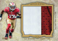 2012 Topps Five Star Football Jumbo Patch Image
