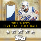 2012 Topps Five Star Football Cards