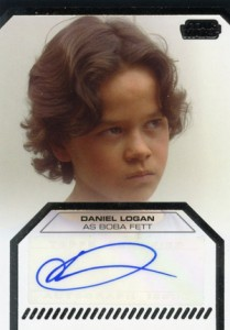 2012 Topps Star Wars Galactic Files Autographs Daniel Logan as Boba Fett 209x300 Image