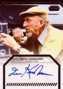 2012 Topps Star Wars Galactic Files Autographs Irvin Kershner 214x300 Image